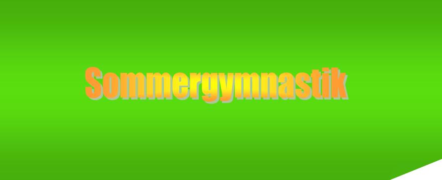 Sommer gymnastik
